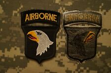 Novelty Military Patch US Army 101st Airborne Division Dress Color Perfect Cond