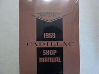 1959 CADILLAC ELDORADO SEVILLE Repair Shop Service Manual NEW REPRINT X Factory