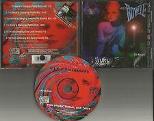 ANGELA BOWIE World is Changing 6TRX MIXES & DUB & EDIT LIMIT USA CD single DAVID