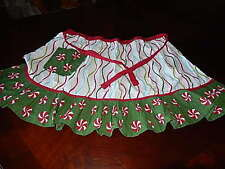 Pier1 Half Apron Red White And Green  Cotton  SKU:2320193 Womens Aprons