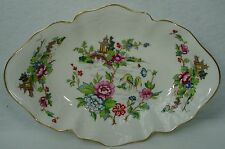 CROWN STAFFORDSHIRE china PAGODA pattern BON BON Sweet Meat 6-7/8""