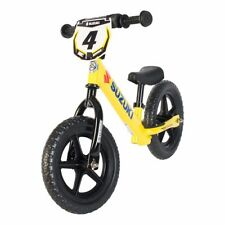 STRIDER SUZUKI 12 Sport Kids Balance Bike Learn to Ride No Pedal Bike YELLOW NEW