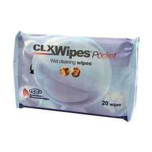 CLX Cleansing Wipes for Cats & Dogs 20s Pocket Sized Pack