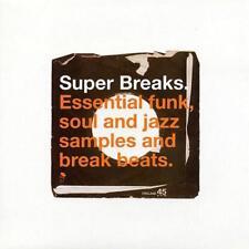 Super rompe volumen 1 Nuevo y Sellado Funk Soul Jazz Break Beats 2X Lp Vinilo (BGP)