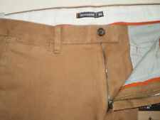 DOCKERS D1 Levi Mens Slim Fit Soft Khaki Trousers Pants Chinos Genuine Sand 34/34