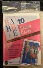 1990 Barbie Trading Cards + 1998 Barbie Fashion Touches Accessories