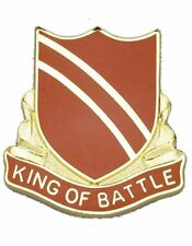 0108 Regiment Unit Crest (King Of Battle)