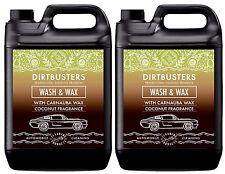 Ph Neutral Coconut Carnauba Car Wash and Wax Shampoo Cleaner 2 x 5L