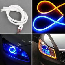 60cm LED Car DRL Daytime Running Lamp Strip Light Flexible Soft Silicone Tube