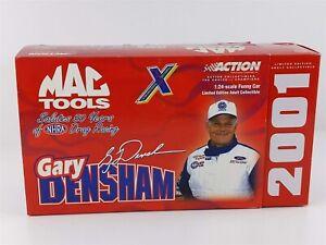 Action Mac Tools Gary Densham NHRA 50th MUSTANG FUNNY CAR 1:24 Diecast 2001 NIB