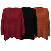Ladies Chenille Jumper Brave Soul Womens Knitted DESSERA Long Sleeved Winter New