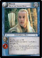 LOTR TCG Haldir Elf of The Golden Wood 1U48 Fellowship of the Ring MINT FOIL