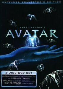 AVATAR (2009) (3PC) (EXTENDED) (WS) NEW DVD