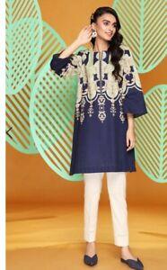 Nishat Linen Kurta Top Shirt Like Khaadi Limelight Sana Safinaz Sapphire