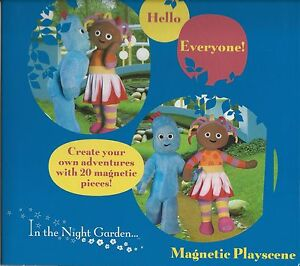 In the Night Garden Magnets - Magnetic Playscene - 20 Magnetic Pieces