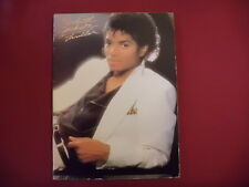 Michael Jackson-Thriller. Carnet de chansons partition piano vocal guitar PVG