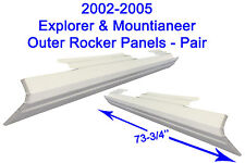 2002-05 FORD EXPLORER MERCURY MOUNTAINEER 4DR OUTER ROCKER PANELS NEW PAIR !