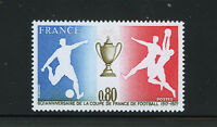 FRANCIA/FRANCE 1977 MNH SC.1549 Soccer Cup of France