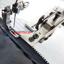 Adjustable Zipper Guide Attachment + Zipper Foot For Juki Ddl-8500 8700 Brother