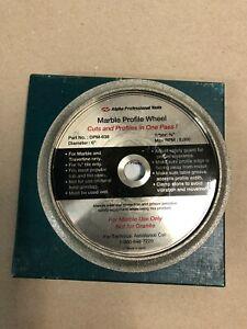 ALPHA DPM 638 MARBLE PROFILE DIAMOND WHEEL