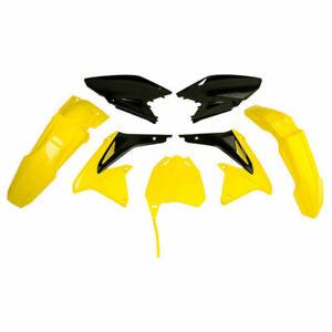 Polisport Plastic Kit Set 17 Yellow Black Replacement RMZ450 2008-2017