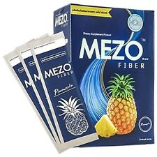 2X Mezo Fiber Detox Natural Body Bright Shine Acne Reduced For Healthy 5 Sachets