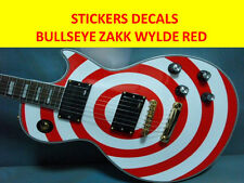STICKERS BULLSEYES LES PAUL RED ZAKK WYLDE BLACK LABEL SOCIETY VISIT MY STORE