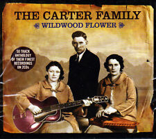 THE CARTER FAMILY - WILDWOOD FLOWER - BEST OF (NEW 2CD)