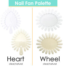 False Nail Art Display Pratice Wheels Nail Tip Swathes Color Wheel