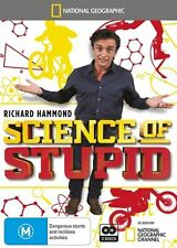 The National Geographic - Science Of Stupid (DVD, 2015, 2-Disc Set) New Region 4