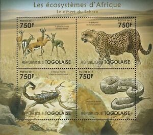 Animals Africa Togo Mint 2743