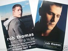 "Rob Thomas ""Something To Be"" 2-Sided U.S. Promo Poster - Matchbox 20 Singer"