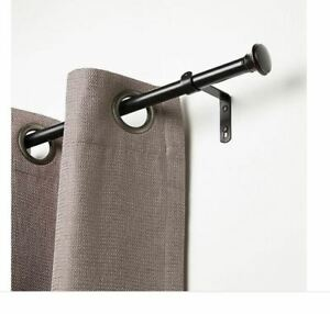 Bronze 84 to 120-Inch Adjustable Curtain Rod Umbra Cafe