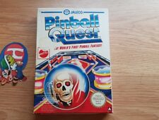 PINBALL QUEST NINTENDO NES PAL A EXCLUSIVE VERY RARE CIB AND VERY GOOD CONDITION