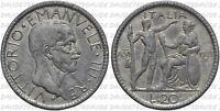 05478] REGNO ITALIA VITTORIO EMANUELE III - 20 LIRE LITTORE 1927 - FALSO D'EPOCA