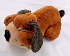 "Nanco Puppy Dog Plush Bone 9"" 1987 Vintage Stuffed Animal"
