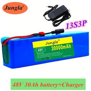 48V 30Ah 1000watt Battery Pack 54.6v E-bike Electric bicycle scooter & charger