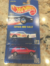 Hot Wheels #10 VW Golf and #122 Toyota MR2 Rally