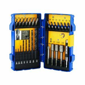 IRWIN 1800580 27-Piece Drill Drive Bit  Set