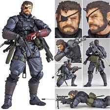 #004 MGS Metal Gear Solid V The Phantom Pain Venom Snake 15cm PVC Figure Chinese