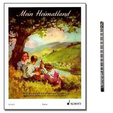 Mein Heimatland - Songbook mit MusikBleistift - Schott - ED2222 - 9790001036566