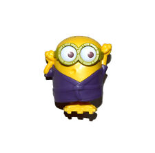 Despicable Me 2 Mcdonald's Happy Meals Purple Robe Geta Minion Figure