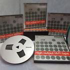 """PHILIPS LP18 METAL LOOK 7"""" Reel to Reel Tape Reel Recording Tape 7 inch 18cm"""
