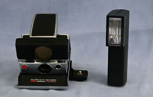 Polaroïd SX-70 Land Camera Sonar Auto Focus Appareil Photos Flash et Sacoche