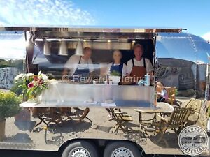 2021 Airstream Mobile Food Trailer Suitable Burger, Coffee, Gin, Prosecco Pizza