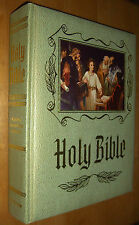 Holy Bible King James Version Master Reference Illustrated Red Letter 1964