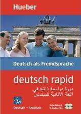 Hueber. deutsch rapid. Sprachkurs. Deutsch als Fremdsprache (DaF). Arabisch