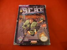 S.C.A.T. Special Cybernetic Attack Team Nintendo NES Box ONLY (no manual, game)