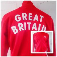 Adidas Jacket Great Britain Team GB Size M Red Men's