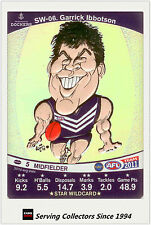 2011 AFL Teamcoach Cards Star Wild SW6 Garrick Ibbotson (Fremantle)